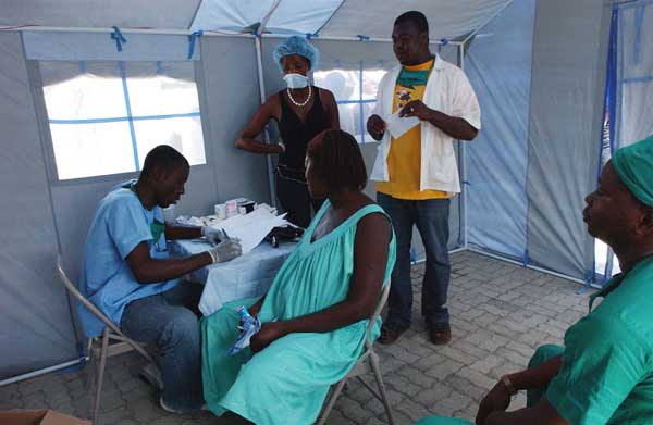 kubanischer arzt in Haiti