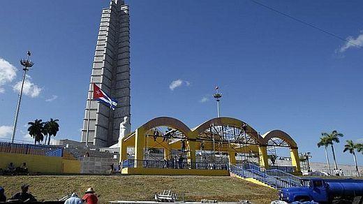 Papst in Kuba, Altar in Havanna