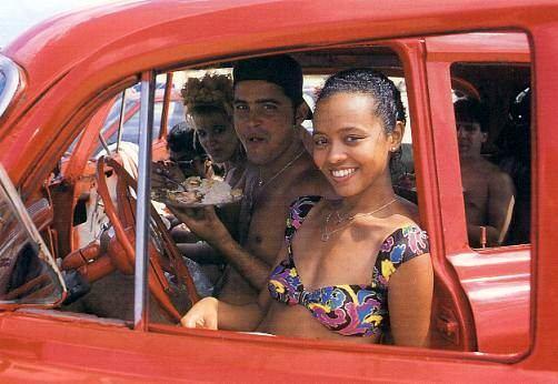 Kubanerin im alten Kreuzer