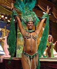Tropicana Tänzer in Havanna