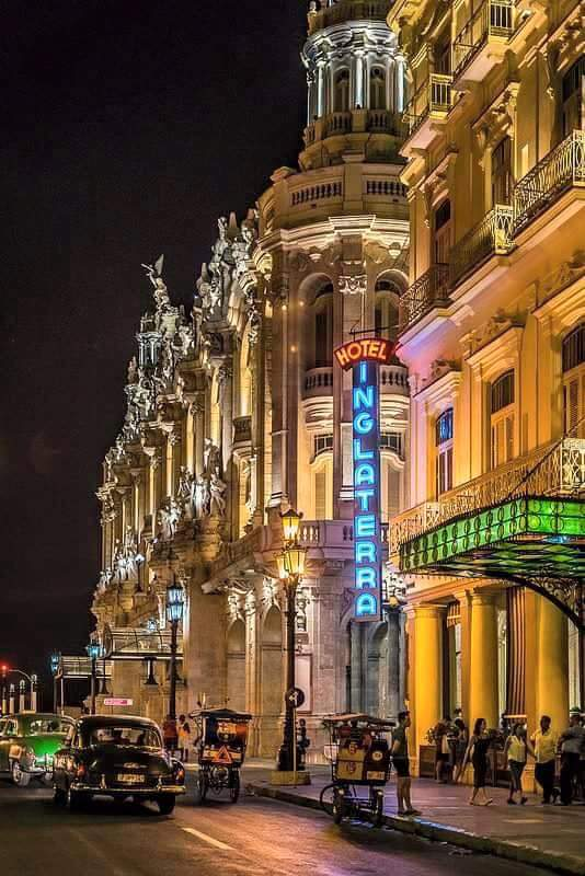 Havana By Night: Hotel Inglaterra