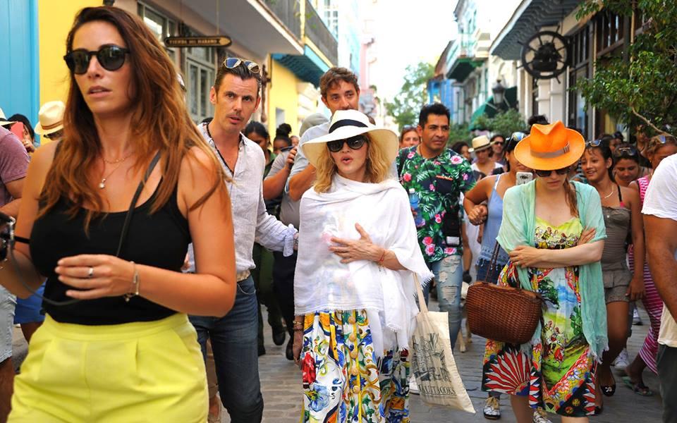 Madonna in Havana