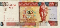 Three Peso Convertible (CUC)