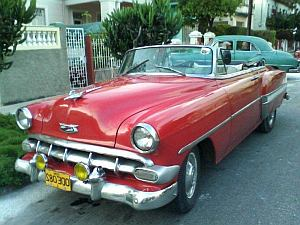 1950s car in Havana