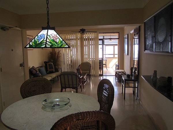 Living room in luxury apartment in Cuba