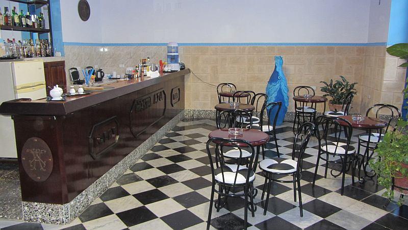 Service bar in Hostal Azul, Matanzas, Cuba