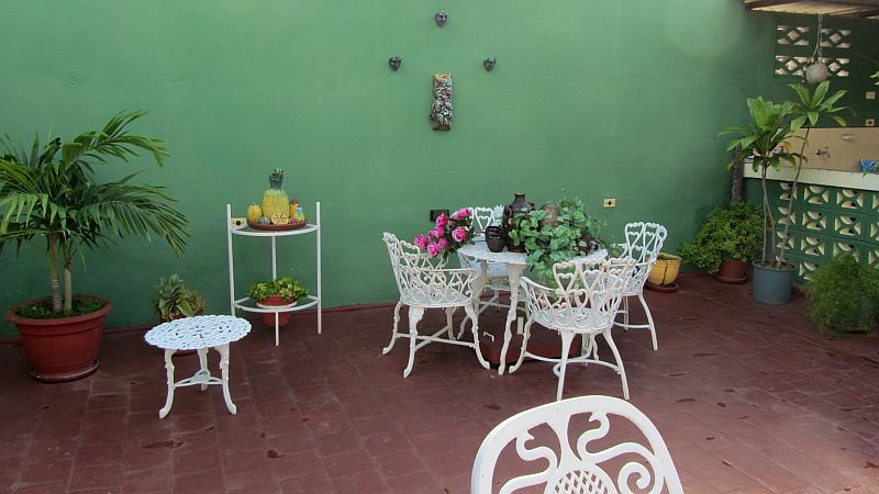 Patio in casa