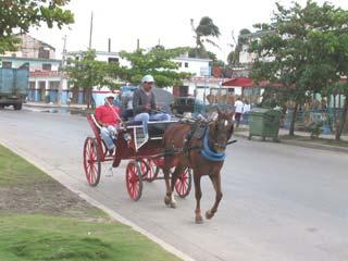 Pferdekutsche in Kuba