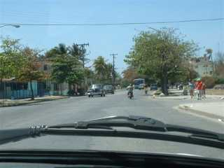 Strase in Guanabo