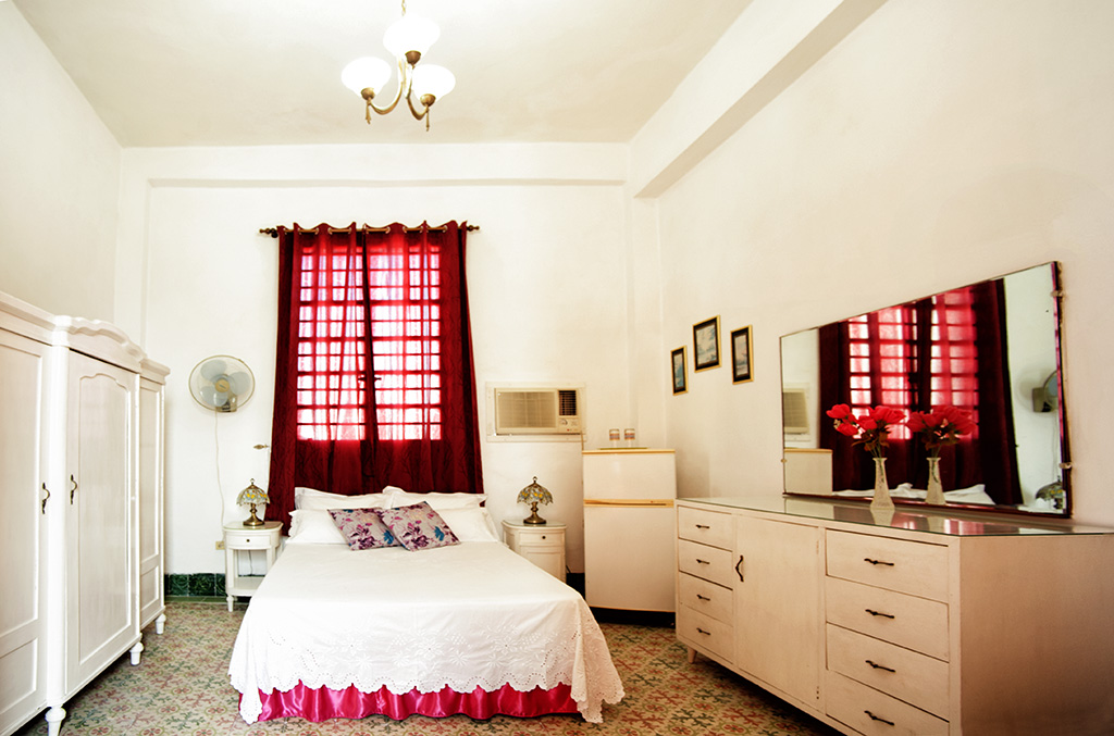 Bedroom in Hostel en Cuba
