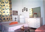 Rooms with AC and fridge