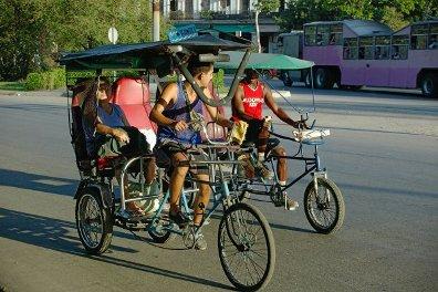 Bici Taxi Cuba Peak Oil Crisis
