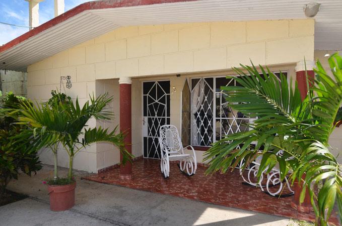 Eingang zu Casa Yaya
