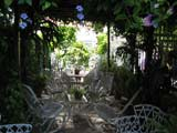 patio in B&B house