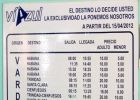 Bus schedule in Varadero - viazul