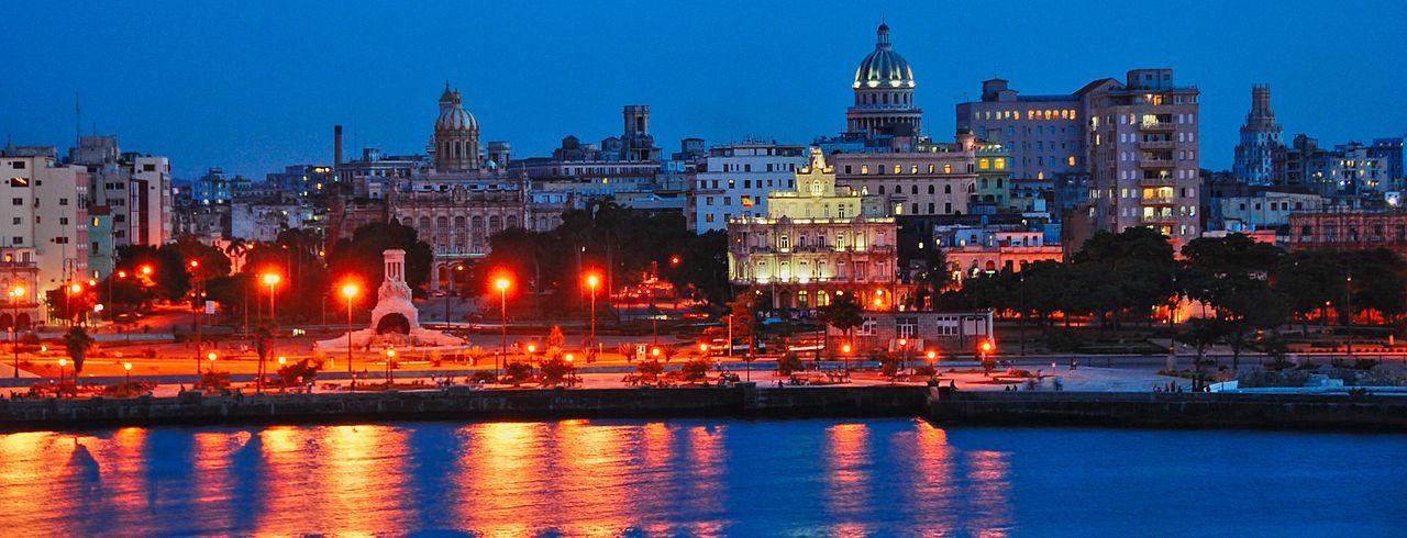 Habana Vieja in der Nacht