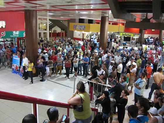 Flughafen Havanna - Ausgang