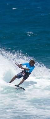 Surfer auf der Wellen