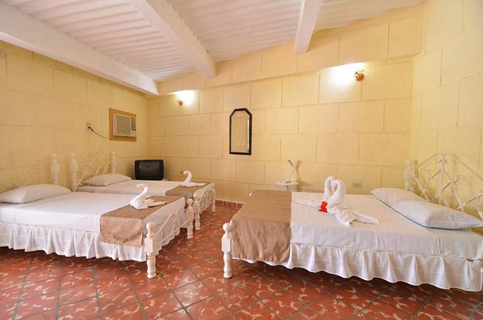 Pokój z 3 łóżkami