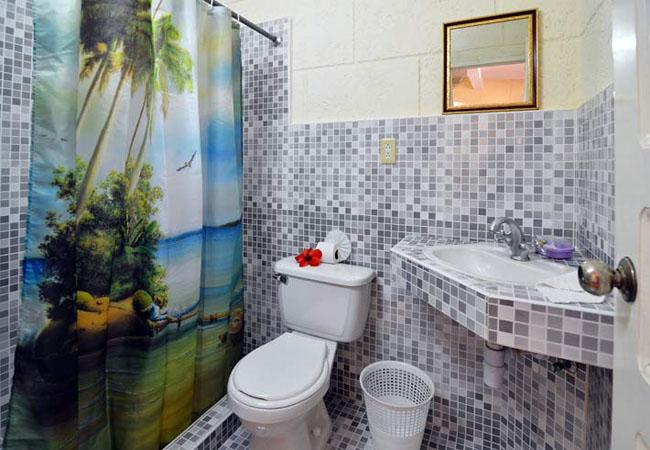 standard shower casa particular